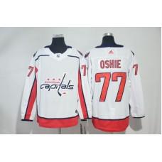 Men Washington Capitals 77 Oshie White Adidas Hockey Stitched NHL Jerseys