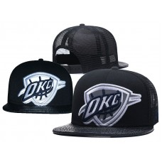 2018 NBA Oklahoma City Thunder Snapback hat 0506