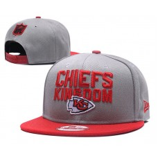 2018 NFL Kansas City Chiefs Snapback hat 0517