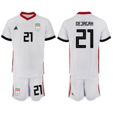 2018 World Cup Men Iran home 21 soccer jersey