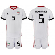2018 World Cup Men Iran home 5 soccer jersey