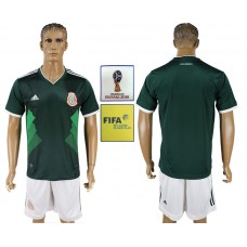 2018 World Cup Mexico home soccer jersey