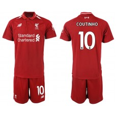 2018-2019 Men club Liverpool home 10 soccer jersey