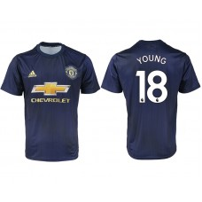 2018-2019 Men club Manchester united away aaa version 18 soccer jersey