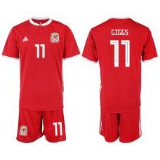 2018-2019 Men nationa Welsh home 11 soccer jersey