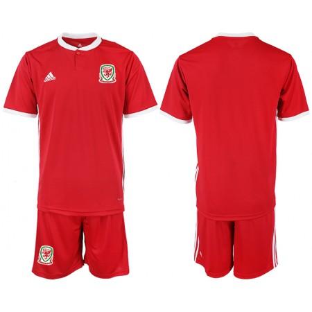 2018-2019 Men national Welsh home soccer jersey