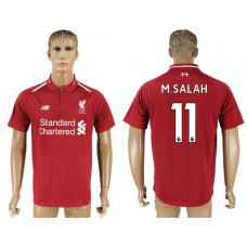 Men 2018-2019 club Liverpool home aaa version 11 red soccer jersey