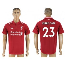 Men 2018-2019 club Liverpool home aaa version 23 red soccer jersey