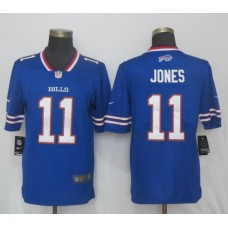 Men Buffalo Bills 11 Jones Blue Vapor Untouchable Limited Player Nike NFL Jerseys