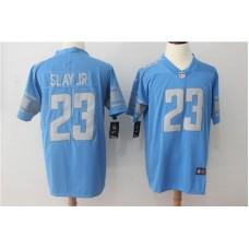 Men Detroit Lions 23 Slay jr Blue Vapor Untouchable New Nike Limited Player NFL Jerseys