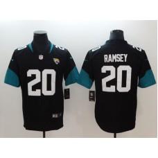 Men Jacksonville Jaguars 20 Ramsey Black Vapor Untouchable Limited Player Nike NFL Jerseys