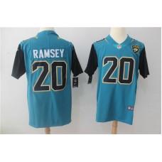 Men Jacksonville Jaguars 20 Ramsey Green Nike Vapor Untouchable Limited NFL Jerseys