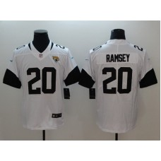 Men Jacksonville Jaguars 20 Ramsey White Vapor Untouchable Limited Player Nike NFL Jerseys