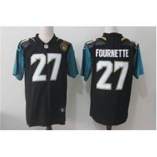 Men Jacksonville Jaguars 27 Fournette Black Nike Vapor Untouchable Limited NFL Jerseys