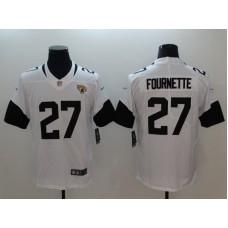 Men Jacksonville Jaguars 27 Fournette White Vapor Untouchable Limited Player Nike NFL Jerseys