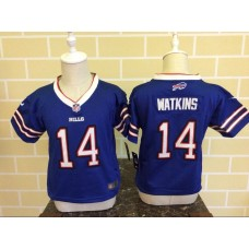 Baby Buffalo Bills 14 Watkins Blue Nike NFL Jerseys