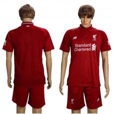 Men 2018-2019 club Liverpool home suit soccer jersey