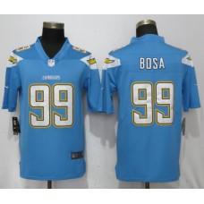 Men San Diego Chargers 99 Bosa Light Blue Vapor Untouchable Playe Nike Limited NFL Jerseys