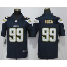 Men San Diego Chargers 99 Bosa Navy Blue Vapor Untouchable Playe Nike Limited NFL Jerseys