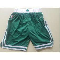 2018 Men NBA Nike Boston Celtics green shorts