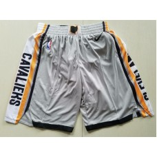 2018 Men NBA Nike Cleveland Cavaliers grey shorts
