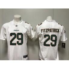 Men 2018 Miami Dolphins 29 Fitzpatrick white Vapor Untouchable Player Nike Limited NFL Jerseys