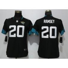 Women Jacksonville Jaguars 20 Ramsey Black Vapor Untouchable Elite Player Nike NFL Jerseys