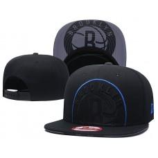 2018 NBA Brooklyn Nets Snapback hat GSMY818