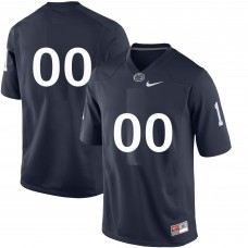 Customized NCAA Penn State Nittany Lions Navy Blue Nike College Football Jersey