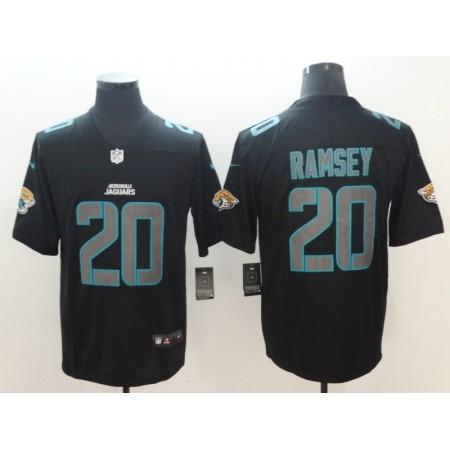 2018 Men Jacksonville Jaguars 20 Ramsey Nike black limited NFL jerseys
