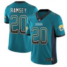 Men Jacksonville Jaguars 20 Ramsey Drift Fashion Color Rush Limited NFL Jerseys
