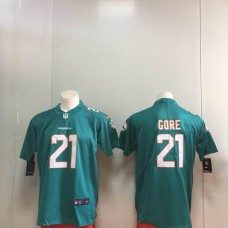 Men Miami Dolphins 21 Gore Green Nike Vapor Untouchable Limited Playe NFL Jerseys