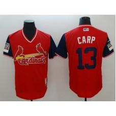 Men St.Louis Cardinals 13 Carp Red New Rush Limited MLB Jerseys