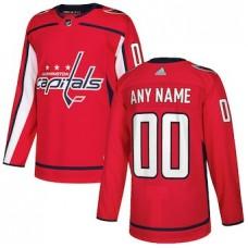 NHL Men adidas Washington Capitals Red Authentic Customized Jersey