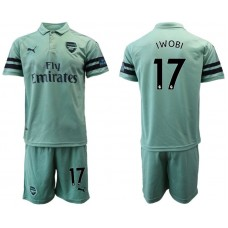 Men 2018-2019 club Arsenal away 17 green soccer jersey