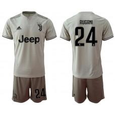 Men 2018-2019 club Juventus away 24 grey Soccer Jerseys