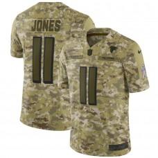 Men Atlanta Falcons 11 Jones Nike Camo Salute to Service Retired Player Limited NFL Jerseys