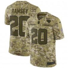 Men Jacksonville Jaguars 20 Ramsey Nike Camo Salute to Service Retired Player Limited NFL Jerseys
