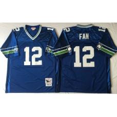 Men NFL Seattle Seahawks 12 Fan Mitchell Ness jerseys