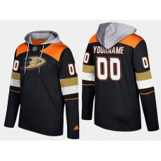 Men NHL Anaheim ducks customized black hoodie