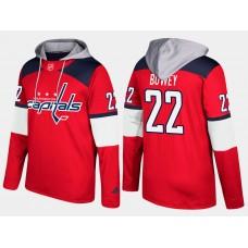 Men NHL Washington capitals 22 madison bowey red hoodie