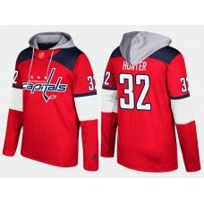 Men NHL Washington capitals retired 32 dale hunter red hoodie