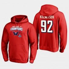 NHL Men Washington capitals 28 evgeny kuznetsov 2018 stanley cup champions pullover hoodie