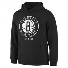 Men Brooklyn Nets Noches Enebea Pullover Hoodie Black
