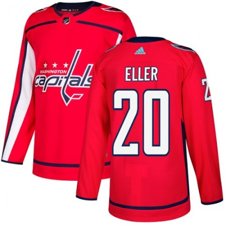 Adidas Men Washington Capitals 20 Lars Eller Red Home Authentic Stitched NHL Jersey