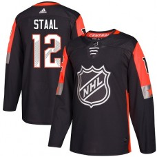 Adidas Minnesota Wild 12 Eric Staal Black 2018 All-Star Central Division Authentic Stitched Youth NHL Jersey
