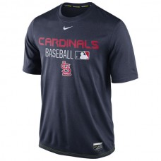 MLB Men St. Louis Cardinals Nike Legend Team Issue Performance TShirt  Navy