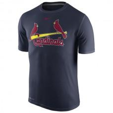 MLB Men St. Louis Cardinals Nike Legend Wordmark 1.5 Performance TShirt  Navy