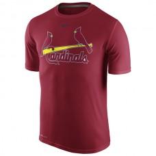 MLB Men St. Louis Cardinals Nike Legend Wordmark 1.5 Performance TShirt  Red