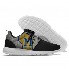 Men  Milwaukee Brewers Roshe style Lightweight Running shoes 1